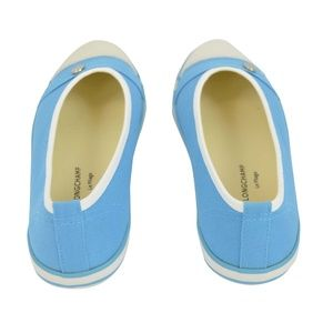Longchamp Shoes - NIB Longchamp Paris Le Pliage Canvas Sneakers Flat